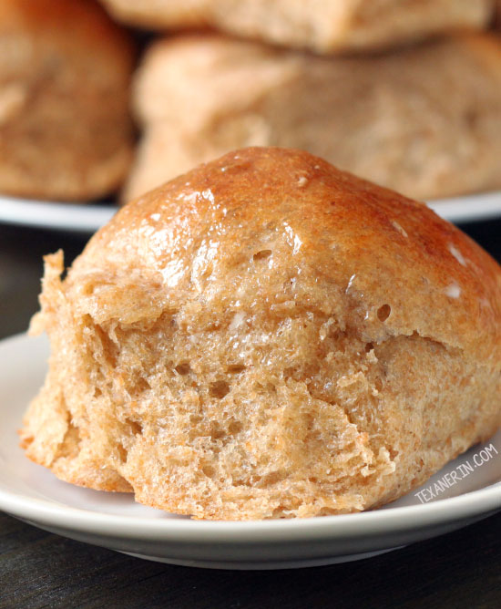Whole Wheat Rolls - Soft and Fluffy Dinner Rolls!