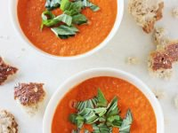 Roasted Cherry Tomato Soup