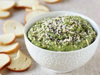 Everything Spinach Chickpea Dip