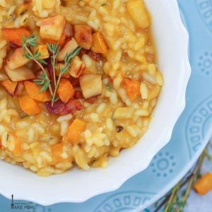 Butternut Squash and Apple Risotto