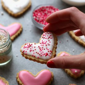 Healthy Sugar Cookie Cut-Outs