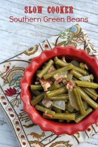 Slow Cooker Southern Green Beans
