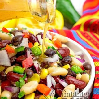 Mexican Three-Bean Salad