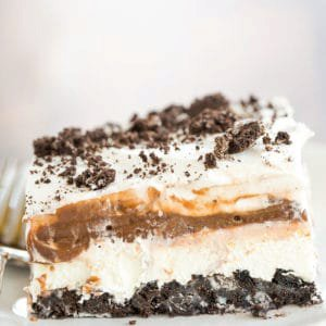 No Bake Oreo Layer Dessert