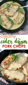Cider Dijon Pork Chop Recipe