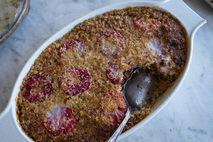 Coconut Baked Oatmeal Recipe
