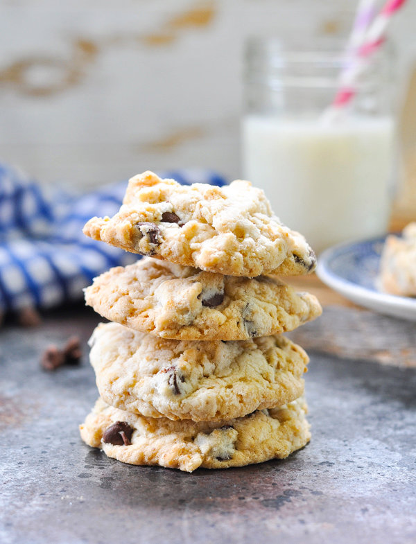 Old Fashioned Oatmeal Chocolate Chip Cookies